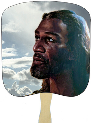 Religious Hand Fans - R2