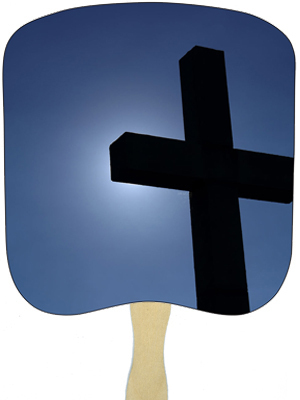 Religious Hand Fans - R5