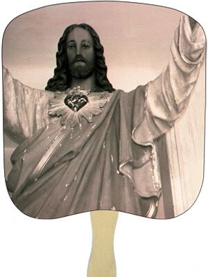 Religious Hand Fans - R7