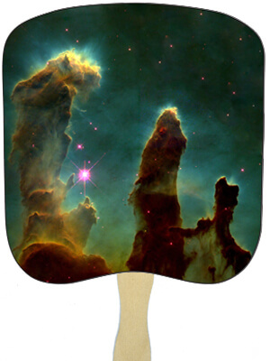 Religious Hand Fans - R12