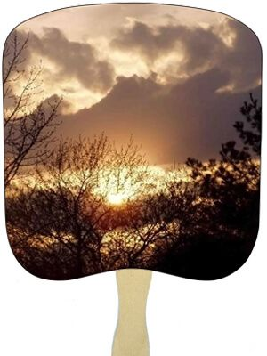Religious Hand Fans - R13