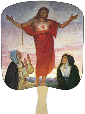 Religious Hand Fans - R14