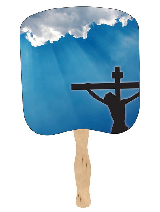 Religious Hand Fans - R16