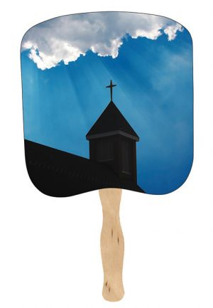 Religious Hand Fans - R18