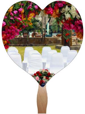 Wedding Hand Fans - W9