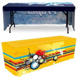 6 ft. 3 Sided Fitted Tablecloths