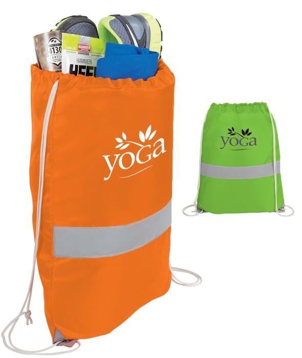 High Viz Drawstring Bags