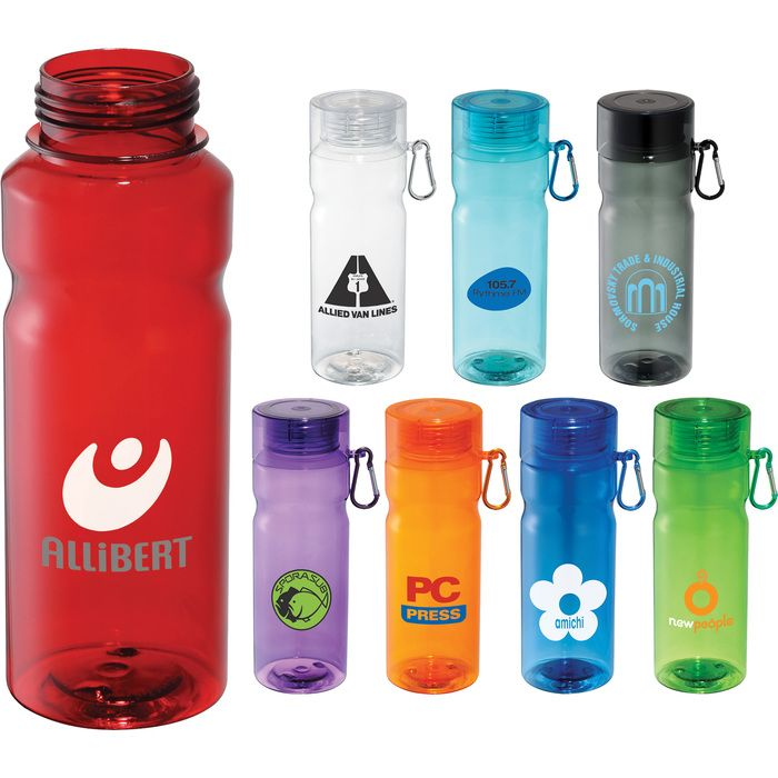 28oz Tritan Sports Bottle w/ Carabiner