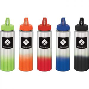 Gradient 25 oz Aluminum Sports Bottle