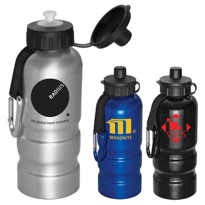 Sahara 20 oz Aluminum Sports Bottle