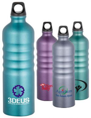 Gemstone 25 oz Aluminum Sport Bottle