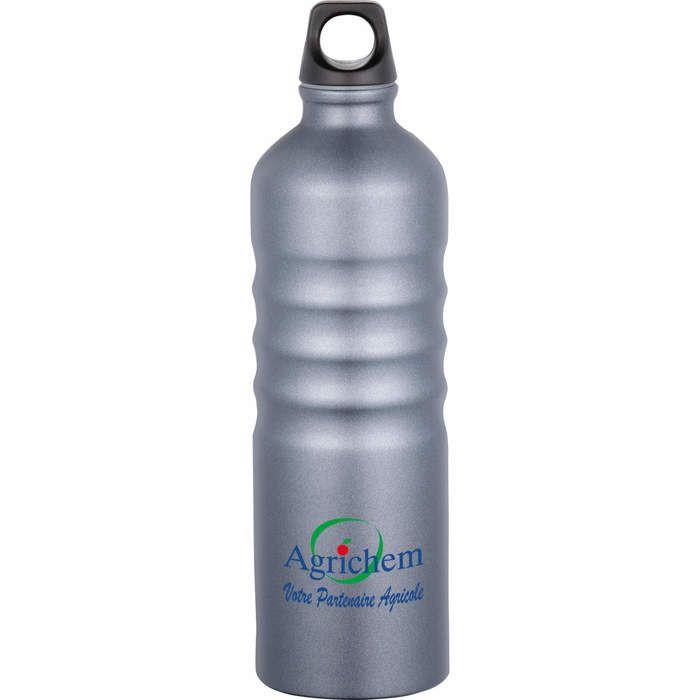 Gemstone 25 oz Aluminum Sport Bottle - Smoky Quartz