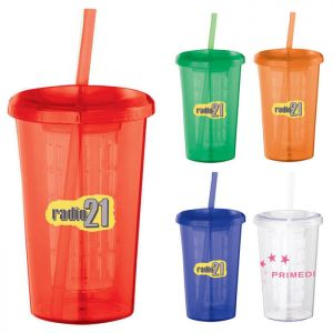 Tutti Frutti 20 oz Tumbler with Straw