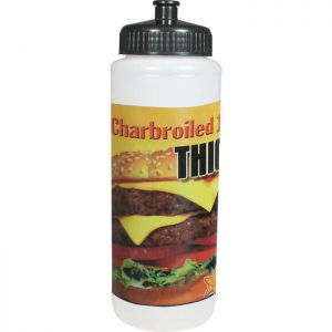 Direct Process 32 oz Sports Bottle - Full Color Print