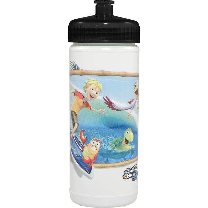 Direct Process 16 oz Sports Bottle -  Full Color Print