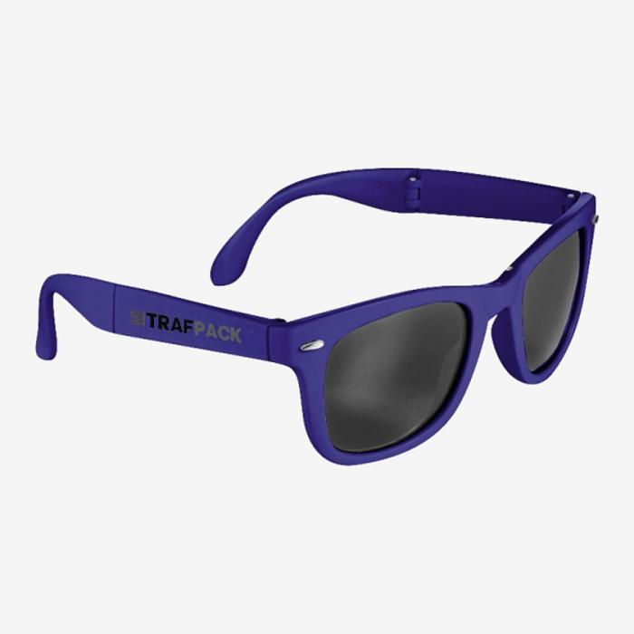 The Foldable Sun Ray Sunglasses  - Royal
