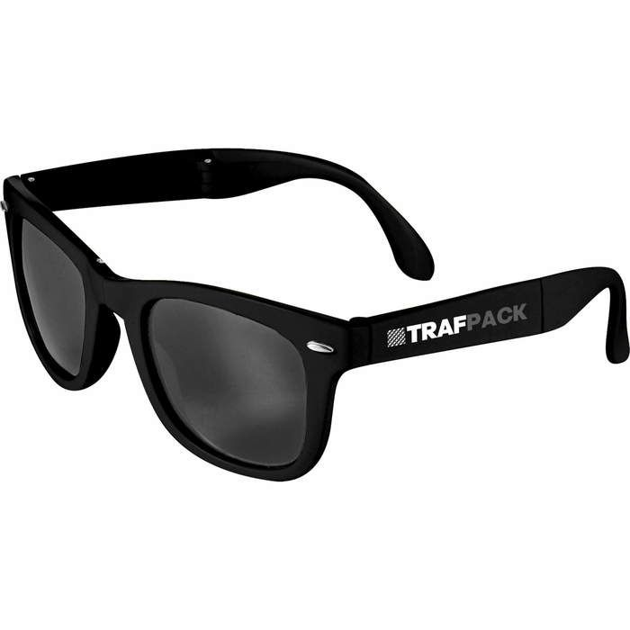 The Foldable Sun Ray Sunglasses  - Black